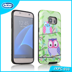Newest 2 in 1 customize mobile phone case for samsung galaxy S7 plus
