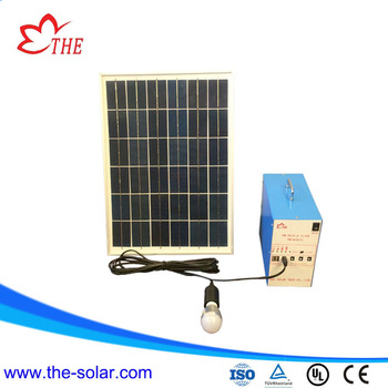 portable 3w solar lighting system for home use