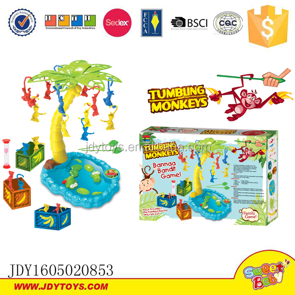 Most popular products toy game falling monkey game tumbling monkeys