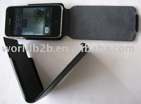 Original leather Skin Crystal case for iphone 3G (new)