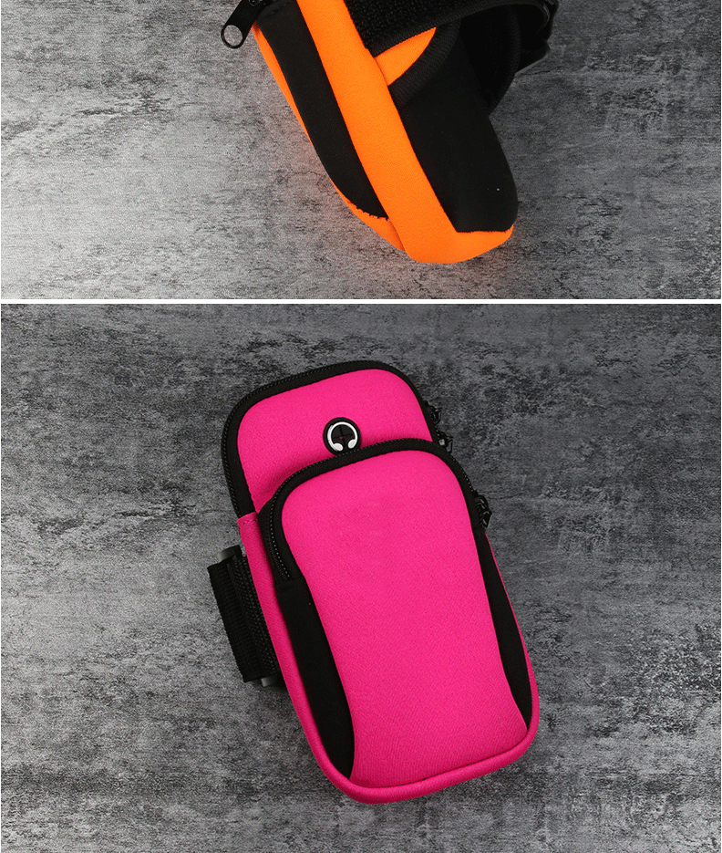 small sports bag for phone  outdoor sports used for mobile phone and other accessories Running arm bag For sporting, bicyclin