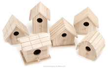 Home decors wooden bird house