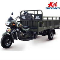 Dayang 250cc water cooled cheap heavy load cargo tricycle for adult for sale In Angola