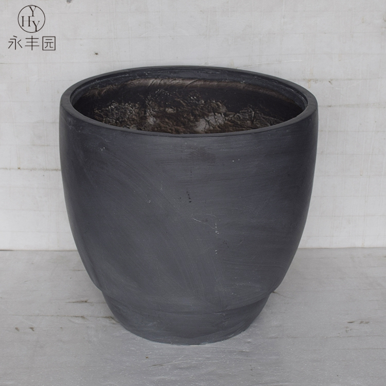 Outdoor Pillar Curve Planter Flower Pot