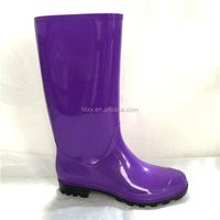 2015 NEW High galoshes Casual Black Matt wellingtons Overshoes Rain Boots