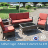 outdoor garden furniture rattan sofa set for sale with aluminum