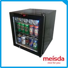 Stand counter top coke cola fridges 52L with led light