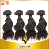 free shipping for usd 3 bundles 10 inch natural color natural wave brazilian remy hair best selling brazilian hair wave