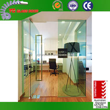 Double Glass Office Doors For Interior