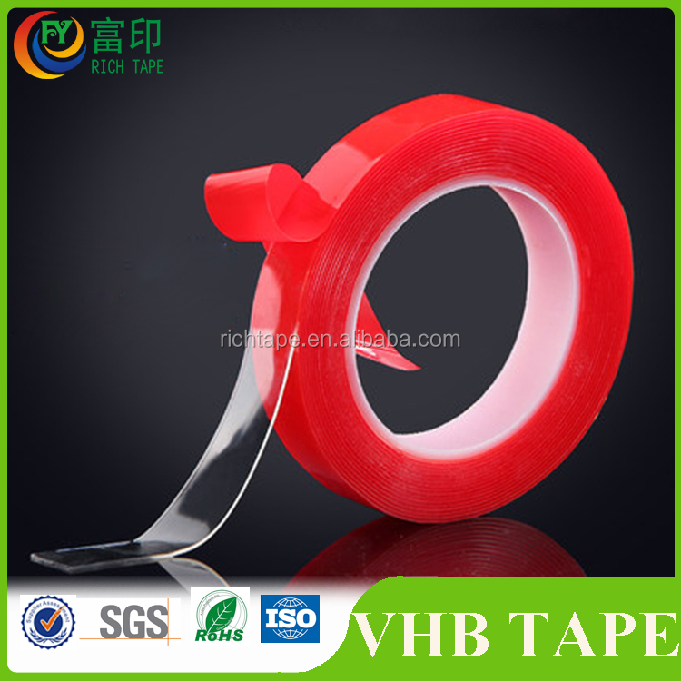 Strong adhesive factory price acrylic VHB foam tape for car accessories