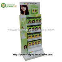 Supply Garnier pop display cardboard stand display for cosmetics