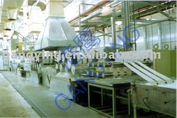 Recycle fiber production line(PSF) (RPSF)