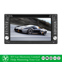 made in china car dvd player/car charger portable dvd player/car radio dvd cd gps XY-D2062