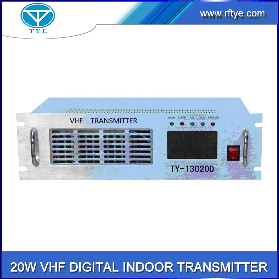 TY-13020D COFDM wireless digital indoor vhf 20w digital transmitter
