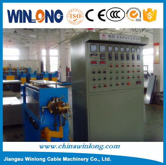 Automatic Fluoroplastic FEP ,FPA Cable Extrusion Making Machine