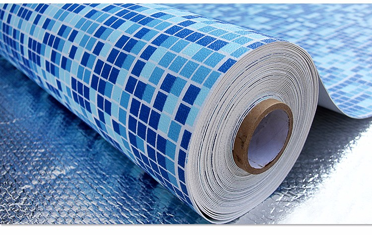 Anti-UV And Corrosion Resisting Swimming Pool PVC Liner
