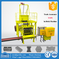 V4 paving stone plastic block molds making machine ,precast concrete house mould