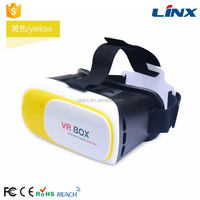 hot selling video player 3d glasses vr box high quality open sex video 3d vr box
