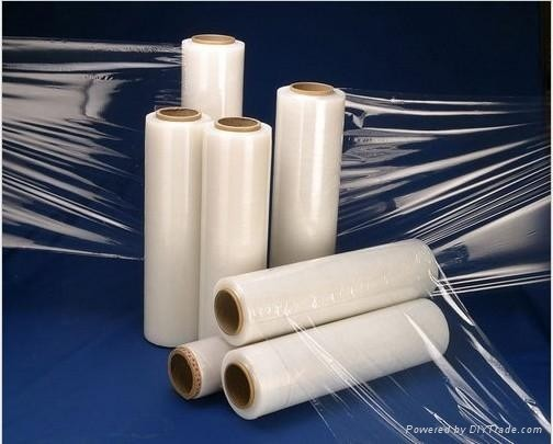 Alibaba China express clear LLDPE Stretch film, Pallet Wrap stretch film, stretch film supplier