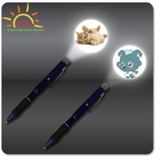 Promotion gifts Flashing Projector pen LOGO Metal Projector Pen for promotion