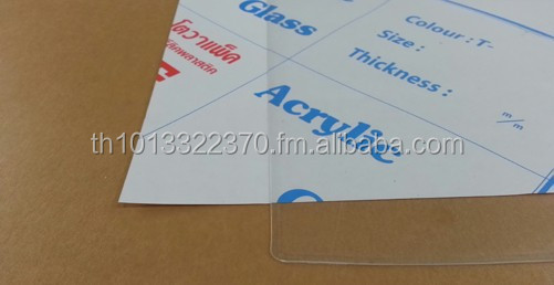 0.8 mm. Cast Acrylic Sheets