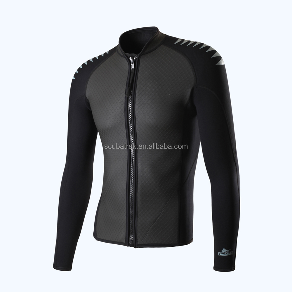smooth skin wetsuit top
