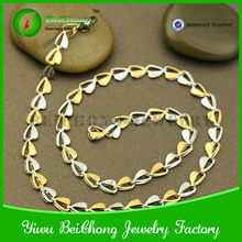 China Wholesale Stainless Steel 24k Gold Chain