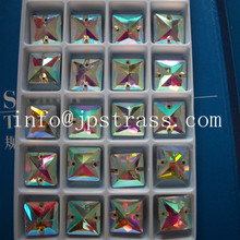 crystal beads wedding dresses loose crystal glass beads ,sewing shapes glass beads