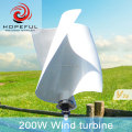 200w low rpm permanent magnet alternator wind turbine for street light