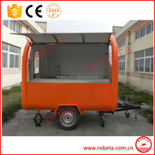 Customized new street bakery food cart trailer for sale mobile food trailer
