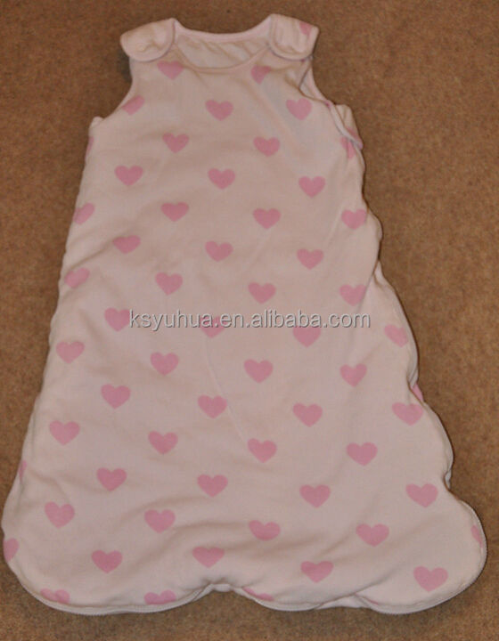 Folower shape heart baby sleeping bag 6-18 Months 1.5 Tog for baby girl