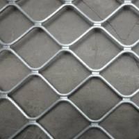 New, beautiful grid wire mesh fence