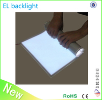 EL backlight sheet el panel for advertisement display with different size