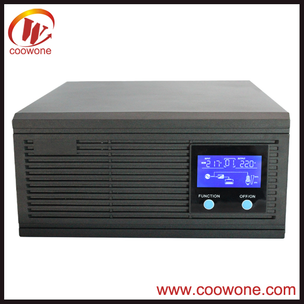 CPU controlled intelligent dc/ac power inverter
