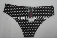 2014 Newest Design Seamless Bonded G String Women Model