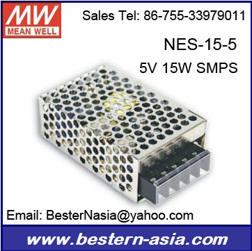 Meanwell NES-15-5 ul class 2 led power supply