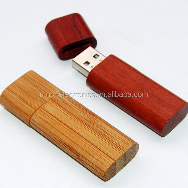 Popular Bulk Engraving Logo Wood Usb Flash Drive For Hp