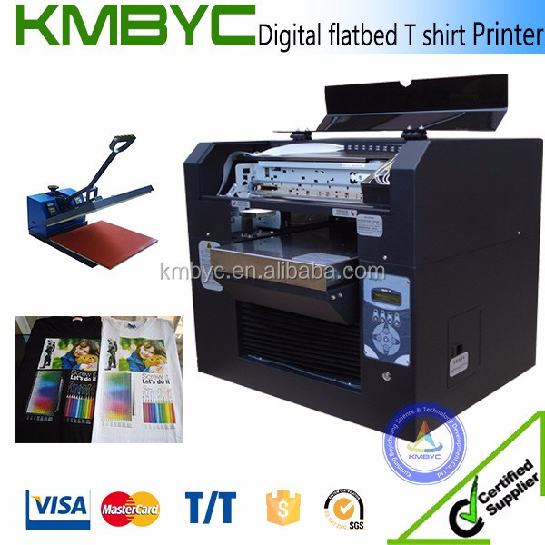 a3 size flatbed digital cheap textile printer for sale