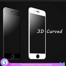 Free Sample 3D Tempered Glass Screen Saver for iPhone 6
