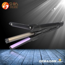 4D Fast Beauty Interchangeable Ceramic Hair Curler Straightener Curling Flat Iron For Professional Hair Salon Youtube