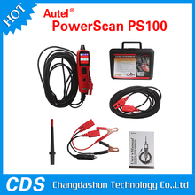 newest Autel Powerscan PS100 PowerScan Circuit Tester (free update+proessional+latest version) OBD2 Diagnostic scanner