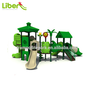 New design woods theme outdoor playground equipment for garden use
