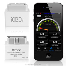 Low power consumption iphone obd car code reader