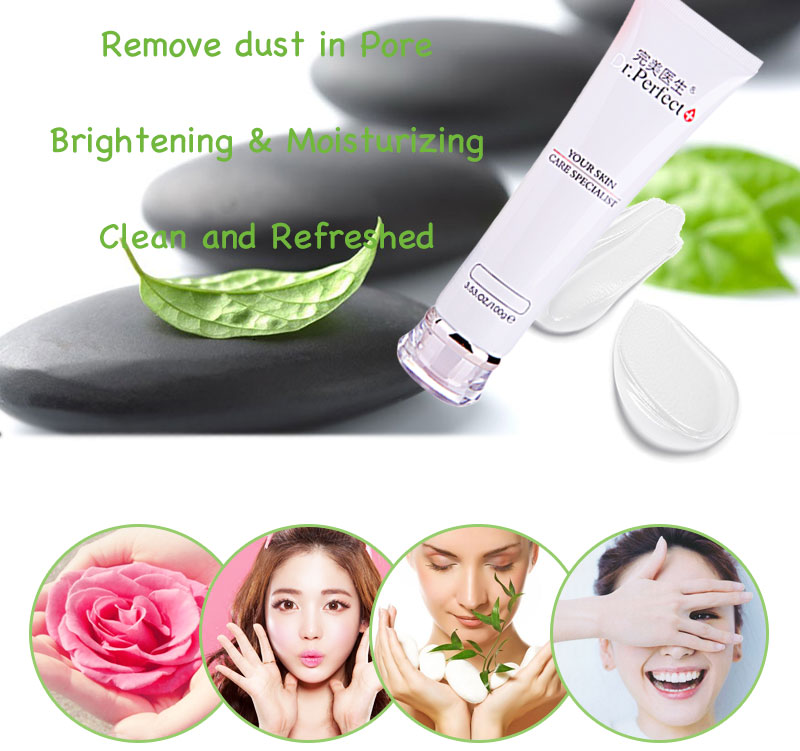 Personal facial care Whitening Face cleanser deeply cleaning moisturizing