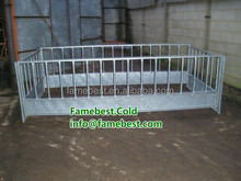 SHeep Panels Feeder sheep hay feeder goat bale feeder in square