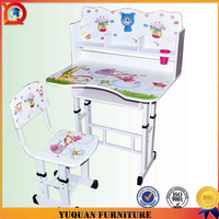 Child plastic chair and kids folding table for science laboratory furniture