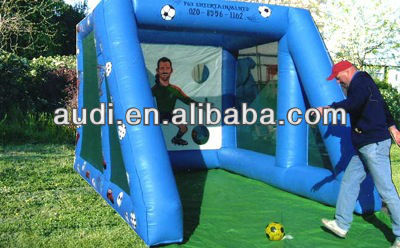 inflatabe football shootout game for sale