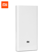 Original Xiaomi Power Bank 20000mAh <strong>Portable</strong> Charger Dual USB Mi External Battery Bank 20000mah for Mobile Phones and Tablets