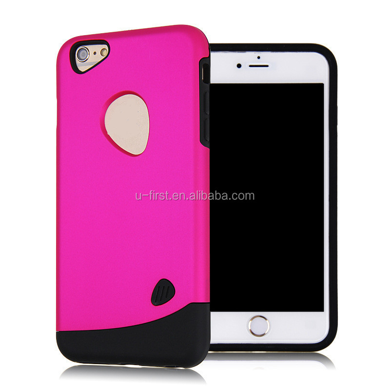 Factory direct sale cobblestone cheap mobile phone case for iphone 6 plus