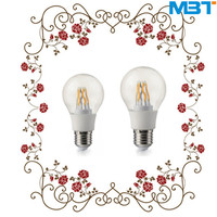 2015 top sale LED Bulb A60 8W LED Filament Bulb light 100LM/W with 270 degree led bulb filament well